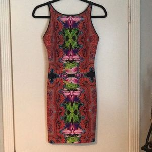 Clover Canyon fitted mini dress